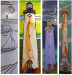 Lighthouses and Sailboats