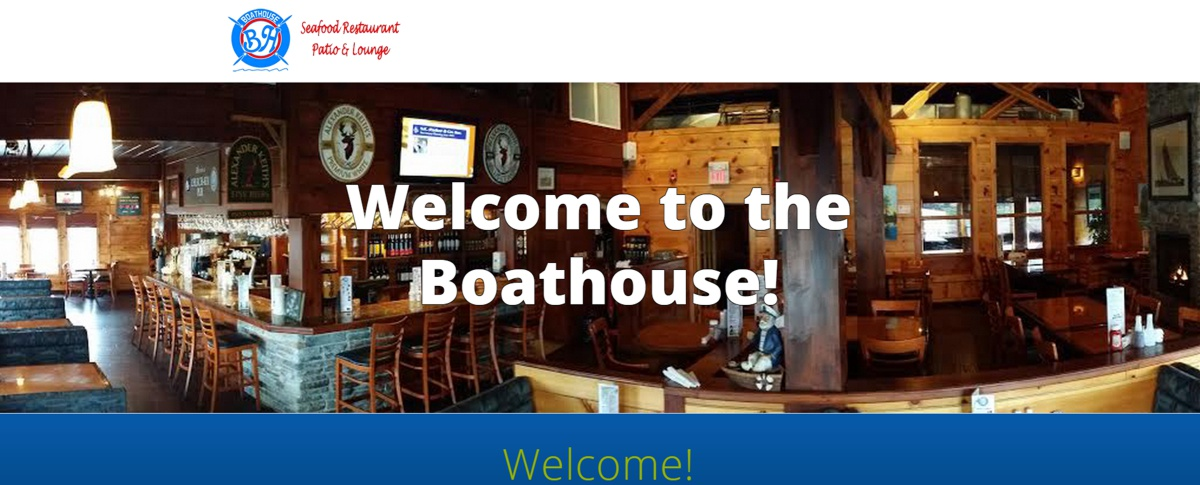 Join Greg at the Boathouse Restaurant !
