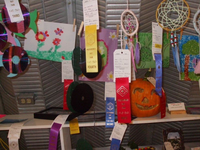 Childrens Art in the Exhibit Hall