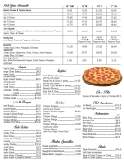 Our Take-Out Menu, Posted June 20, 2019 Prices subject to change