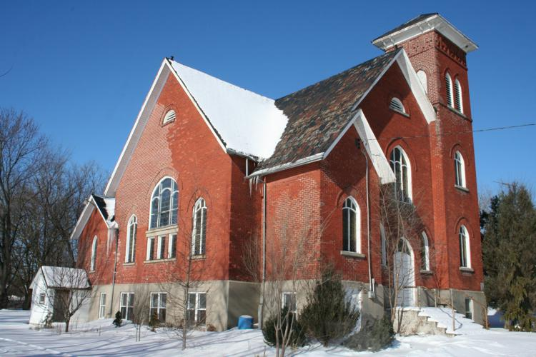 Photo Taken February 9, 2007...the former Morganston United Church now a public residence.