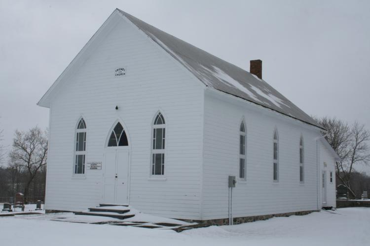 Quaker Church, Old Wooler Road, Photo taken March 19, 2007