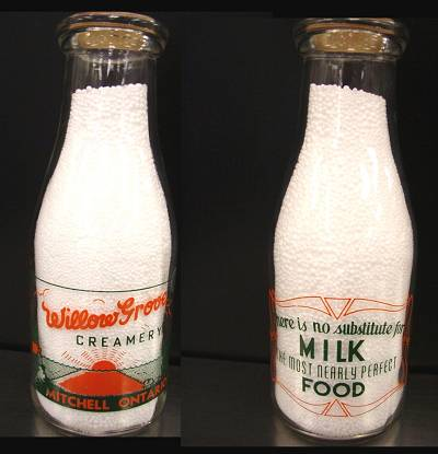 Antique Milk Bottle