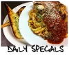 Lunch, Dinner & Dessert specials every day!