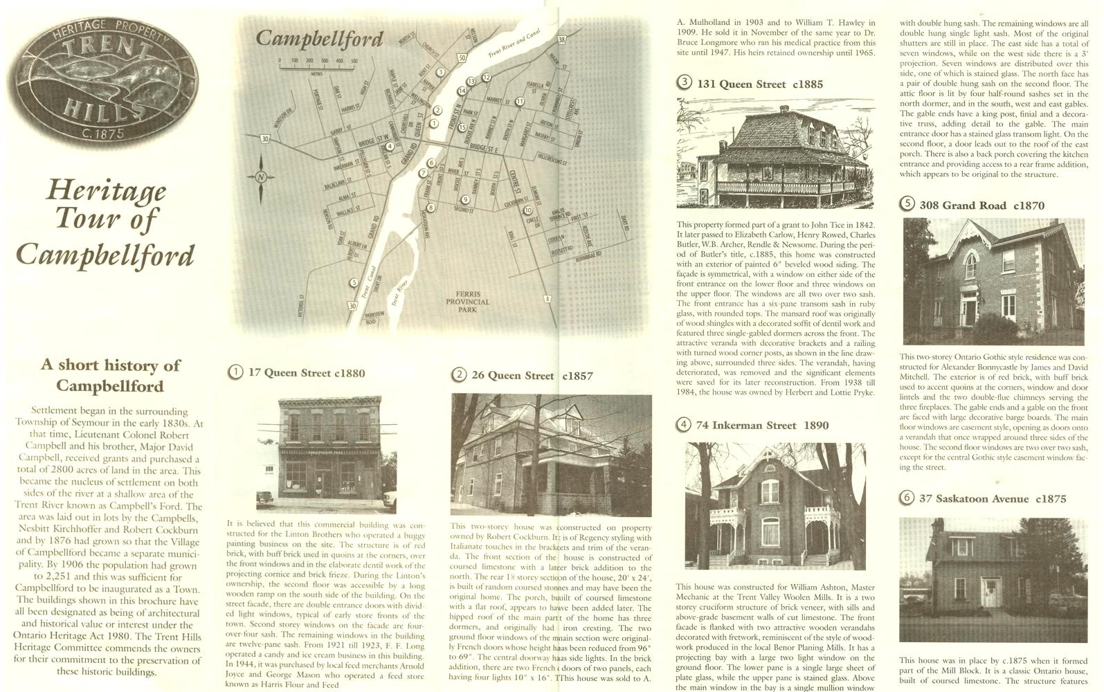 A Short History of Campbellford