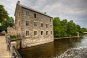 Watsons Mill Built in Manotick in 1860 by Moss Dickinson and Joseph Currier and operated as a gristmill.