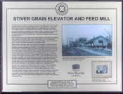 Stiver Mill Built by Charles and Francis Stiver in Unionville (Markham) in 1916 to replace a Matthew Grain Company structure which had been damaged by fire. It was in operation until 1968.
