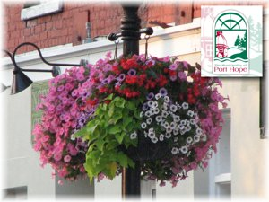Proud Supplier of Municipality of Port Hope Baskets.